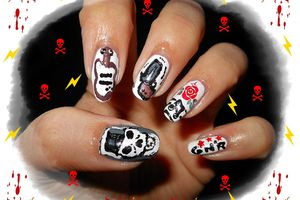 Participations aux concours nail art - part 2