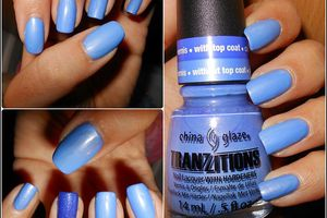 China Glaze tranzitions bleu