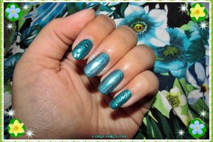 Rimmel green with envy, Miss Europe effet diamant et Dance Legend Prismatic