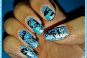 "Nailstorming ""Mers, océans et animaux marins"""