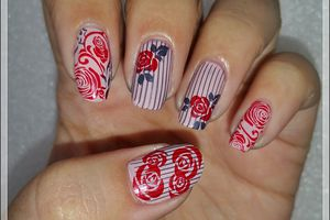 "Stamping Master ""Rouge et Nude"""