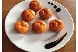 Mini cakes au pesto rouge