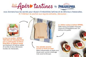 Kit Apéro Tartines by Philadelphia {GiveAway Inside}