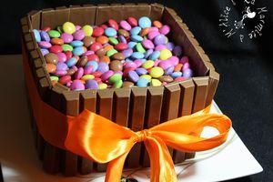Gâteau d'Anniversaire pour l'Ecole