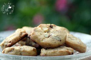 Les Cookies de NY (& de Melle Banane) Chocolat Blanc & Noix de Pécan