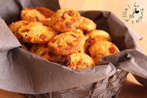 Cookies au Chorizo & Tomates Séchées {Idée Apéro}