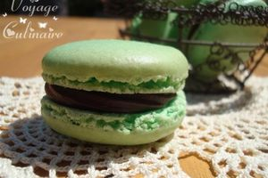 "Macarons ""After Eight"""