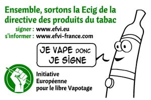 La solution contre la Directive Européenne c'est le mouvement EFVI