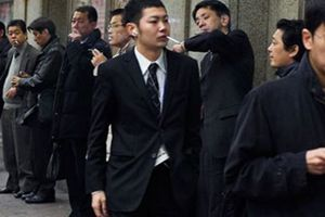 Lendemain de réveillon difficile pour les fumeurs en Corée du Sud
