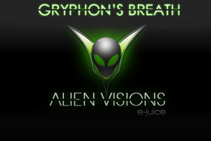 Test - Eliquide - Gryphon's Breath de chez Alien Visions par Evaps