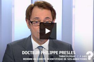 """Philippe Presles est présent dans l'émission """" C à dire """" pour défendre la vape"""