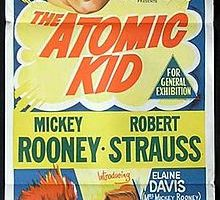 """The Atomic Kid"" avec MICKEY ROONEY (1954)"