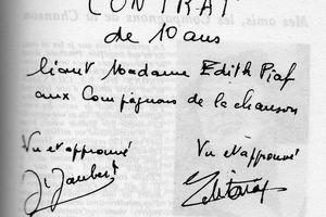 Edith Piaf et les Compagnons de la Chanson: une histoire d'amitié