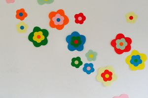 "Decoration murale ""flowers"""