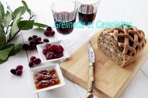 Terrine de Sanglier au Cognac, à la Sarriette et aux Pistaches