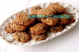 Biscuits à la Noisette et au Miel (15 minutes chrono)