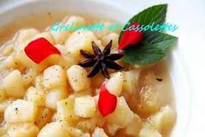 Marmelade de Poires au Miel, au Citron et à la Badiane