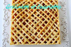Tarte aux Pommes au Calvados, Grillagée