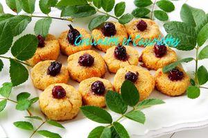 Biscuits à la Farine de Lupin, Amandes et Caseilles, sans Gluten