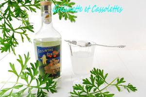Elégante et rafraichissante Absinthe...