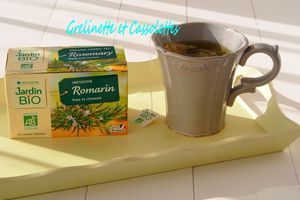 Organic Herbal Tea : Rosemary