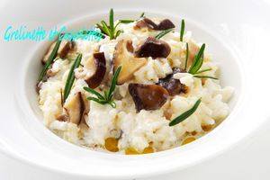 Risotto Forestier au Romarin et astuce...