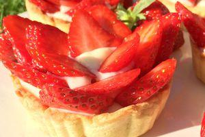 | Tartelette aux fraises | Un avant goût de l'été