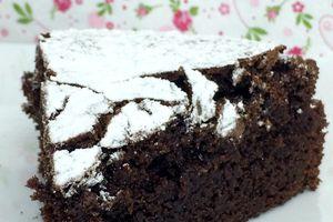 Le véritable gâteau au chocolat