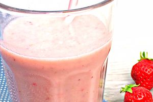 Smoothie Californian Dream (banane et fraise)