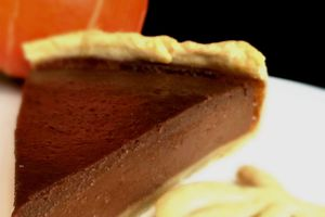 | Pumpkin pie au chocolat | Halloween