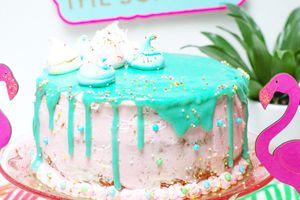   Layer cake tropical  : mon gâteau d'anniversaire  