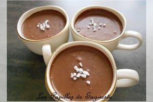 Recette de crème au chocolat au tofu soyeux - Ronde Inter Blog d'avril