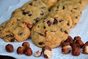 Cookies noisettes et pépites de chocolat (USA)