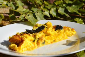 Omelette aux truffes