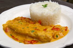 Filets de poisson au curry