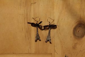 Boucles paris is sweet  5 €( noeud marron)