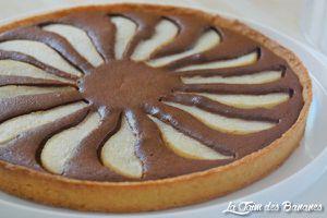 La tarte amandine poire chocolat