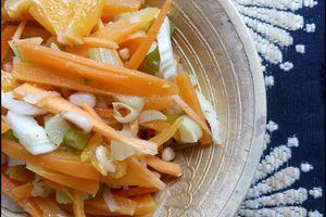 Salade orientale au fenouil