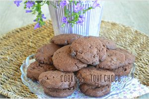 Cookies tout choco...