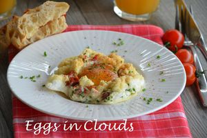 Eggs in clouds Foodista Challenge # 3