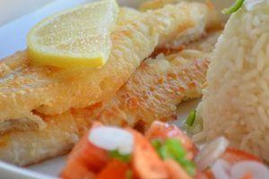 Filets de merlan frits