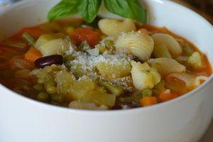 Autour d'une soupe de saison la minestrone