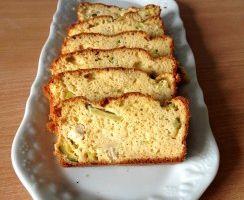 Rolly a testé......Cake salé poulet et poudre d'amandes