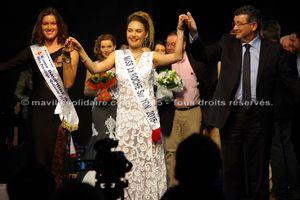 Maëlle Martin élue Miss la Roche-sur-Yon 2015.