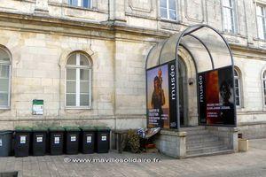 La Roche-sur-Yon. Intempéries, le musée a pris l'eau.