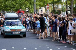 La Roche-sur-Yon. L'arrivée d'Europ' Raid.
