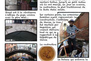 Venise, 20 novembre, gondola, gondola