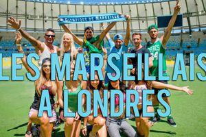 LES MARSEILLAIS DEBARQUENT A LONDRES