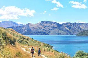 Randonnée vers Colquhouns Beach ~ Lake Wanaka ~ Nouvelle Zélande