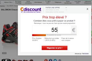 Négocier en ligne 5% sur C-Discount ça marche.